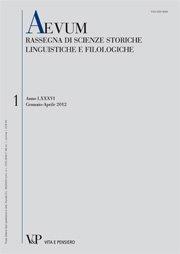 AEVUM - 2012 - 1